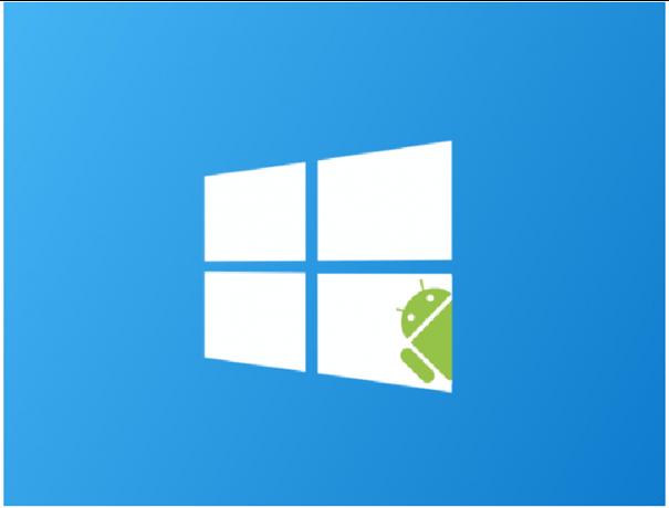 Apps de Android en Windows
